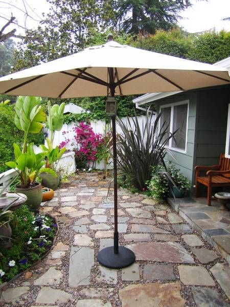 22 Backyard Patio Ideas that Beautify Backyard Designs I would like Mike to put stone walkway leading to a fire pit and the spa.