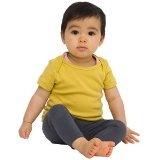 BabyLuxe YogaColors 4000 Infant Baby Rib Emoticon Short Sleeve Lap T-Shirt (Apparel)By YogaColors