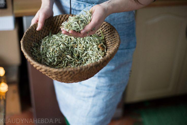 Oat tea - homemade dried