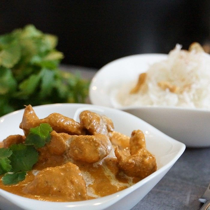 Cuisine indienne : butter chicken ou poulet indien au beurre