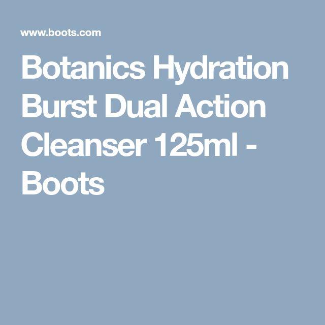 Botanics Hydration Burst Dual Action Cleanser 125ml - Boots