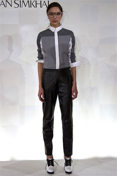 Jonathan Simkhai - Collections Fall Winter 2013-14 - Shows - Vogue.it