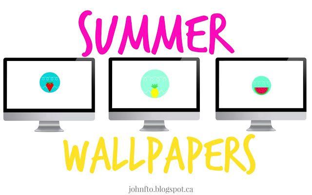 Tech: Summer Wallpapers #tech #summer #technology #wallpaper #cute #cutewallpaper #simple #simplewallpaper #computers – John FTO