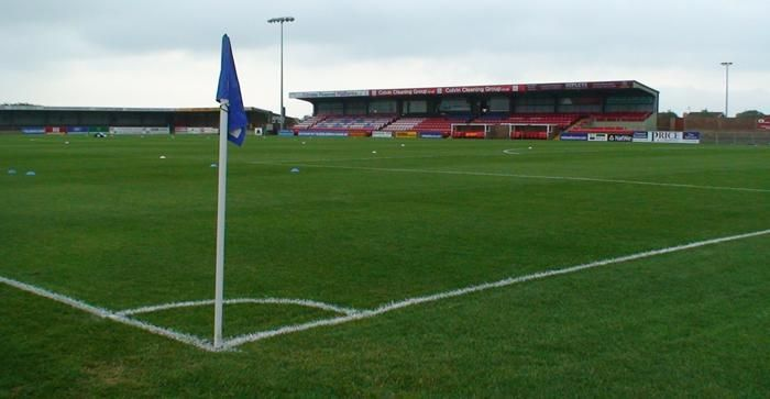 Priory Lane, Home to Eastbourne Borough FC (Conference South), My local team!