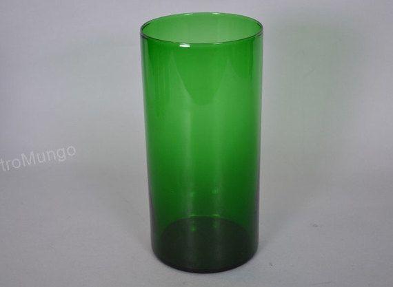 Arabia Nuutajärvi Finland cylinder vase  Purtilo  by RetroMungo