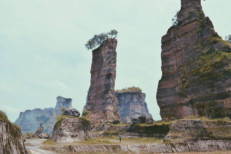 Panorama keindahan Brown Canyon menjadikannya sebagai salah satu tempat wisata dengan spot fotografi terbaik di Semarang. Panorama eksotik dengan tebing yang tinggi menjulang dengan perpaduan pohon-pohon yang tersemat dibagian atasnya membuat tempat ini semakin sayang dan menarik untuk dilewatkan.[Photo by instagram.com/ogiandhafizjuanda]