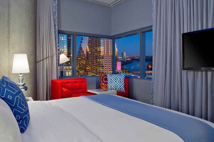 From luxury and large chain hotels in Downtown Austin to boutique accommodation in the city's hippest hoods, these are the best Austin hotels for visitors