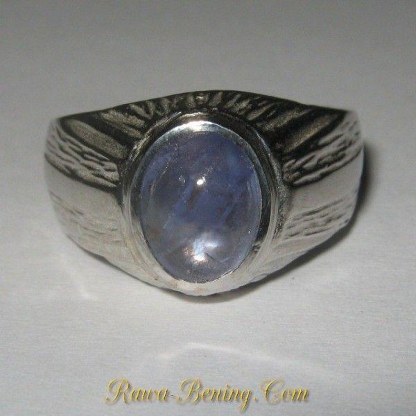 Cincin Silver Batu Tanzanite Asli Ring 10US ~ The illusionist ring
