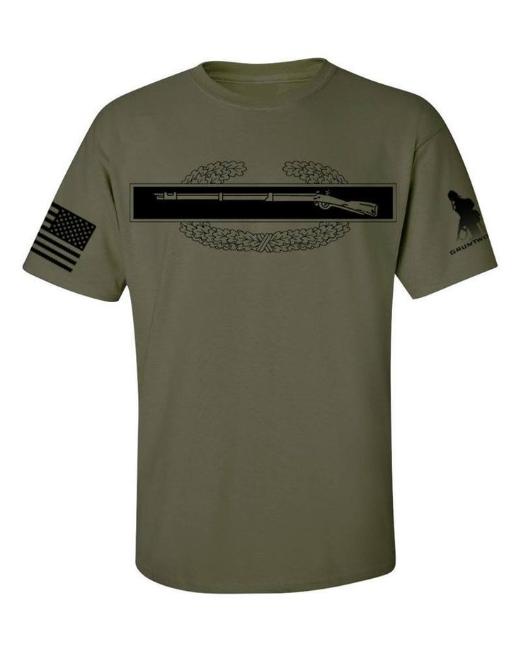 US Army Combat Infantry Badge Subdued T-Shirt