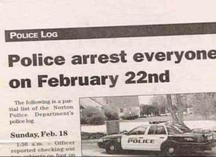 News Headlines Picture: Funny News That Made The Headlines