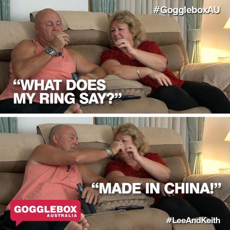 Gogglebox Australia - Keith and Lee