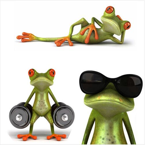 #3D_Frogs #Funny_Car_Stickers #car_styling #vinyl_decal_sticker_decoration #High_temperature_water_Proof #Funny_Sticker
