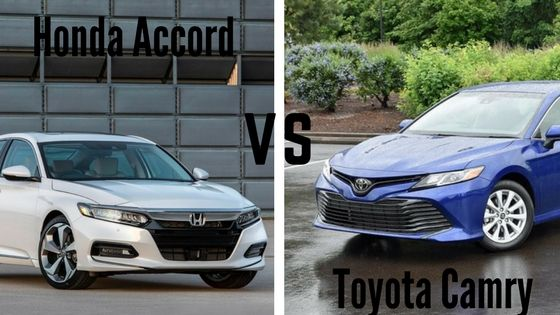 2018 Honda Accord VS 2018 Toyota Camry In 2018 the two biggest names in mid-size sedans are hitting the market with complete redesigns. The Honda Accord and the Toyota Camry have been two of America's favorite sedans for decades. Even with the rise of the crossover and the SUV, these two sedans have managed to …