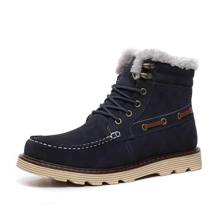 69.50$  Watch here - http://alic3n.shopchina.info/1/go.php?t=32779051088 - New leisure low to help Martin boots frosted cowhide tendon non-slip outdoors men tooling shoes warn winter shoes for men   #buyonline
