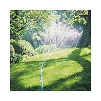 sprinkler hose, good for low pressure and long lawn area to cover!