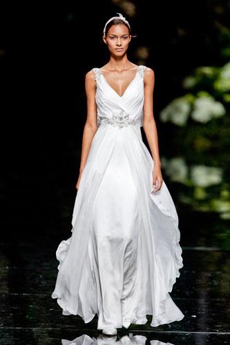 Pronovias at Barcelona bridal fashion week 2013  Photo: Imaxtree