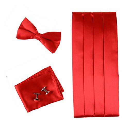 CM1016 Red Formal Pre-tied Bow Tie Hanky Cufflinks and Cummerbund Set with Gift Box for Business Men By Epoint Epoint http://www.amazon.co.uk/dp/B004RKQH2O/ref=cm_sw_r_pi_dp_3hl0wb124DV20