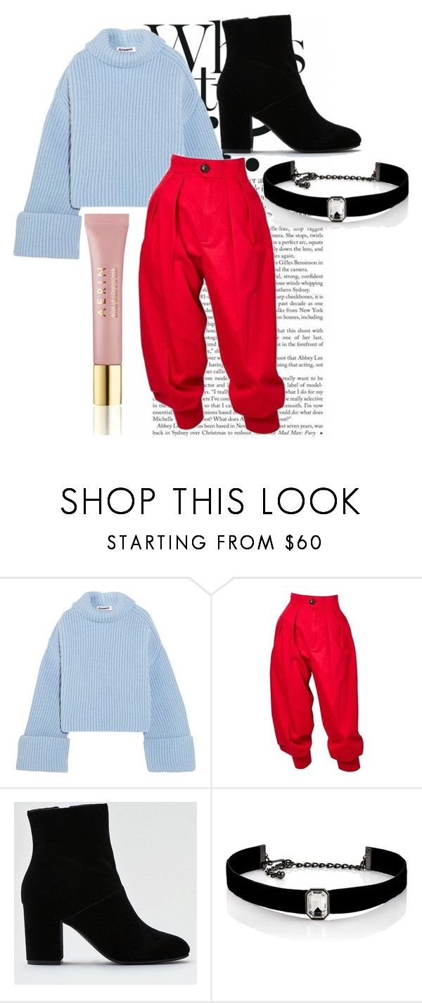 """NEW YEAR EVE"" by aleksova ❤ liked on Polyvore featuring Jil Sander, Yves Saint Laurent, American Eagle Outfitters, Kenneth Jay Lane and AERIN"