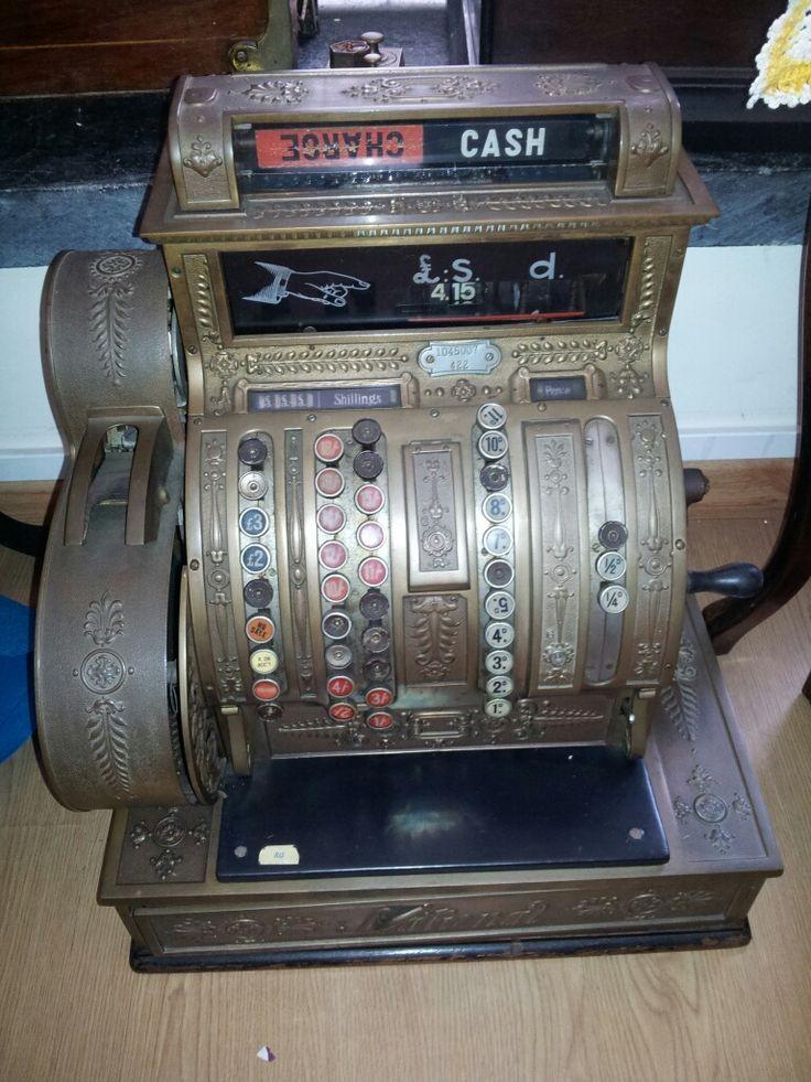 National Till Register 1920 model 422 Sr Nº 1045007