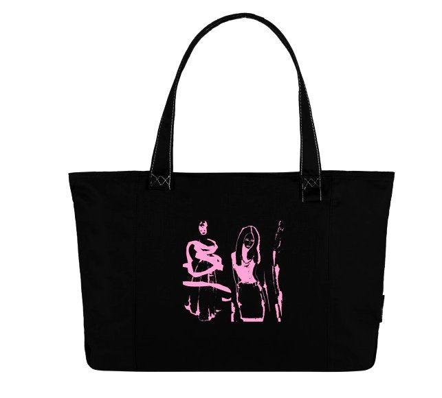 art by Erika Kovarikova  print bag fashion