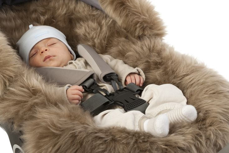 Keep Baby Cozy with the Stokke Stroller Sheepskin Lining