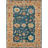 Found it at Wayfair - Charisma Mediterranean Blue Area Rug