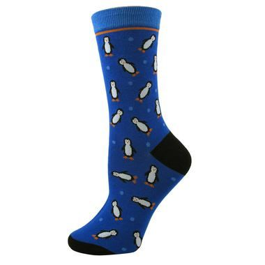 All Over Penguin Socks