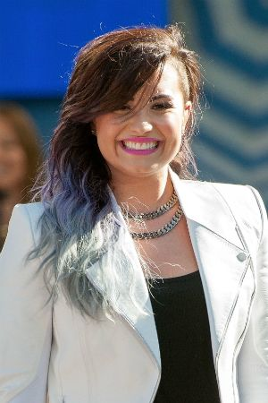 Demi Lovato's Coming Out With Hair Extensions! Snag Her Rainbow Highlights, No Dye Required