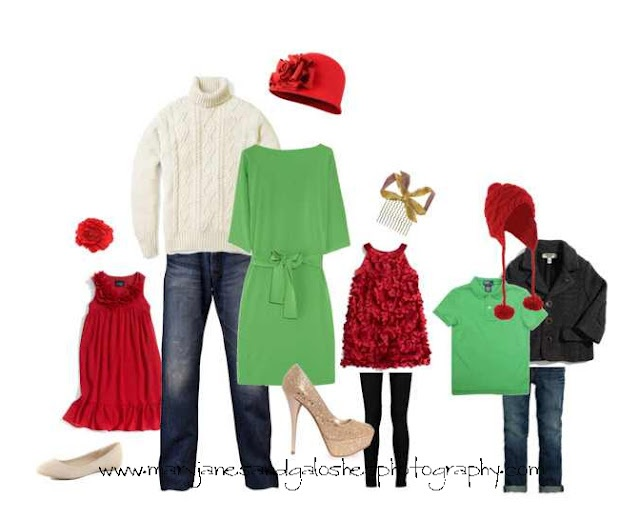 Christmas Photo Outfits (and other what to wear ideas)