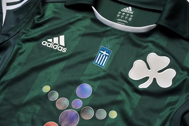Panathinaikos FC adidas 2012/13 Home Kit