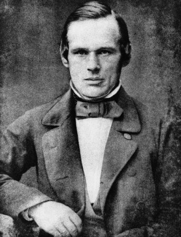 Anders Jonas Ångström, Swedish physicist, first to explore the spectrum of Aurora Borealis in 1867