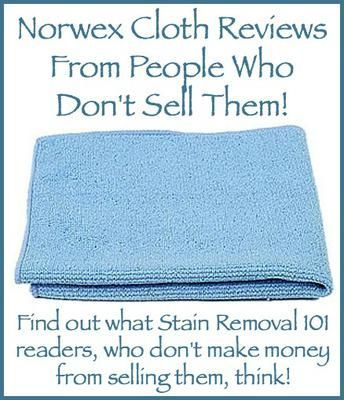 Norwex cloth reviews: how well do they really work? {on Stain Removal 101}