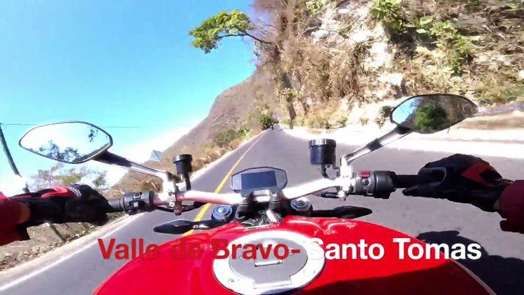 Go Pro   Ducati Monster   Valle de bravo -Santo tomas de los Plátanos