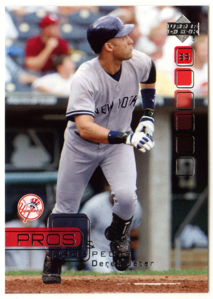 Derek Jeter # 6 - 2005 Upper Deck Pros and Prospects Baseball