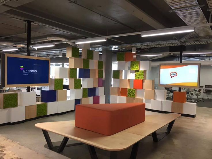 Croomo offices design & build by Focus Productions