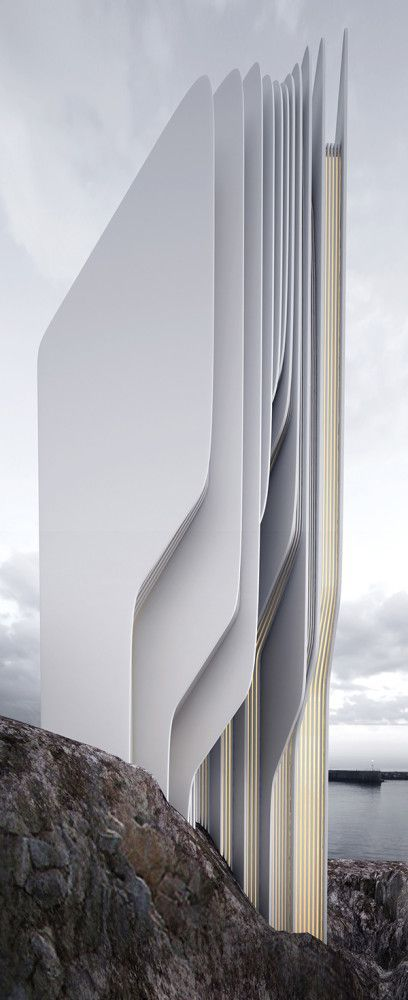 Architectural Concepts by Roman Vlasov | Inspiration Grid | Design Inspiration #Monochrome