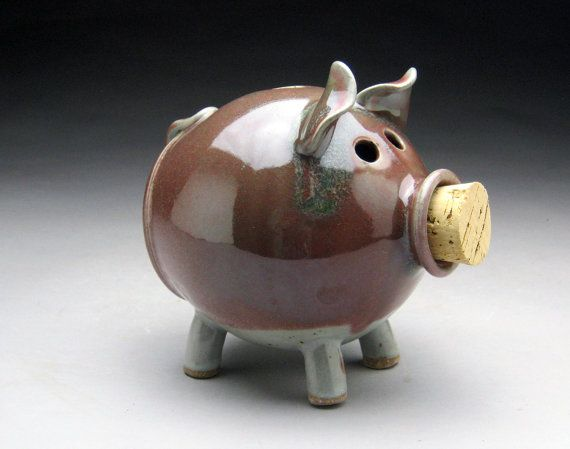 48 best piggy banks images on pinterest Decorative piggy banks for adults