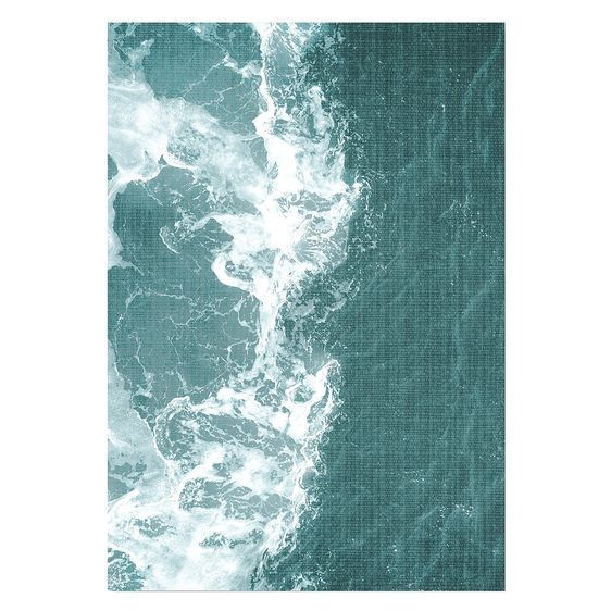 NEW Americanflat Tropical Waters Print Art