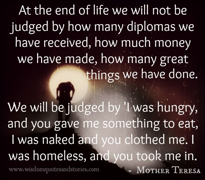 Exceptional At The End Of #life We Will Not Be Judged By How Many #diplomas