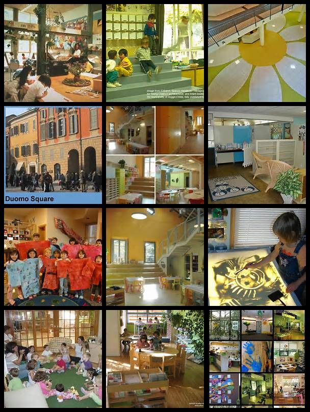 Classroom Layout Theory ~ Reggio emilia schools learning through lights and
