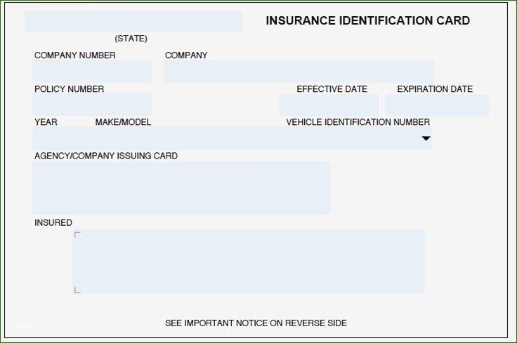 Geico Insurance Card Template: 14 Recommendation 2020 ...