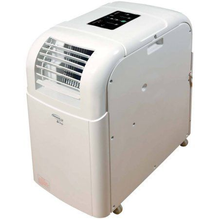 SoleusAir 12,000 BTU 115V Portable Evaporative Air Conditioner with LCD Remote Control, White