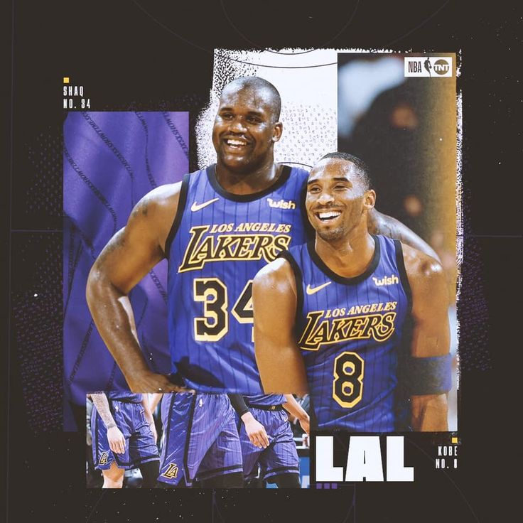 Pin by Fidel on Lakers 4 life Nba legends, Shaq and kobe