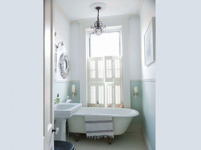 Salle de bains couleurs douces