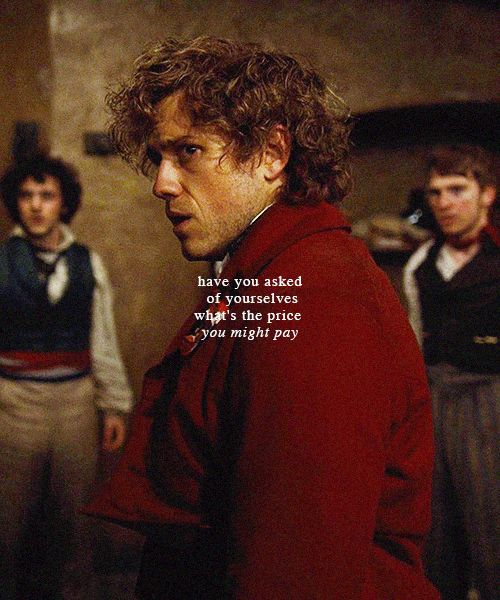 Aronjolras...the first one to realize the price they would pay.  The last to fall.  <3