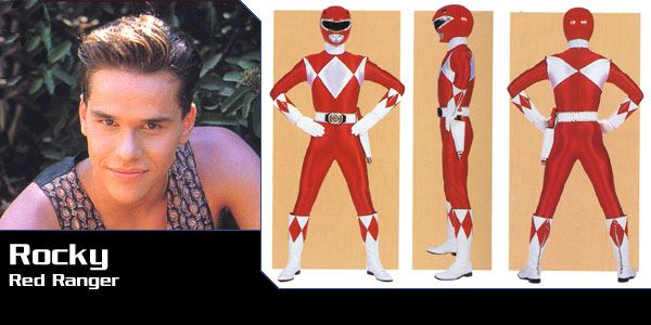 Rocky DeSantos (Red Power Ranger) - Mighty Morphin Power Rangers | Power Rangers Central (Power Rangers Central, 03/16)