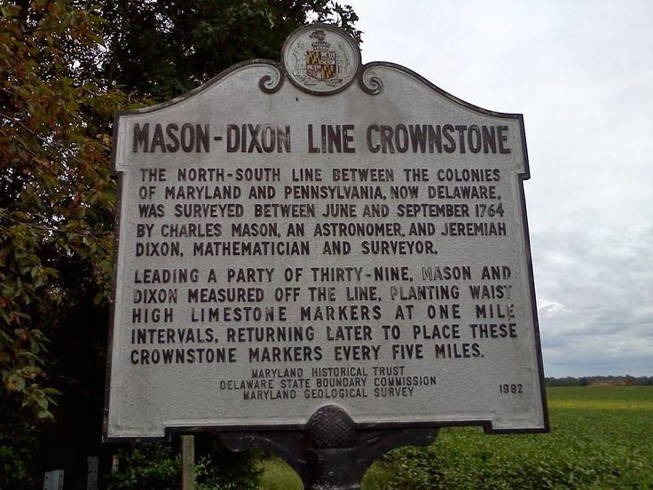 Slavery and mason dixon line essay