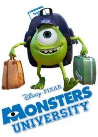 Vinn Monsters University på bluray!