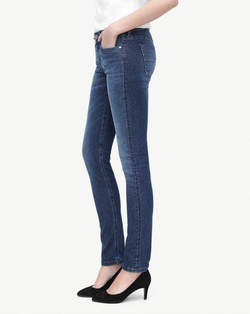 Debbie Mid Blue Jeans - Jeans - Shop Woman - Filippa K