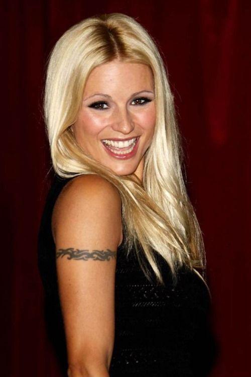 Armband Tattoo of Michelle Hunziker